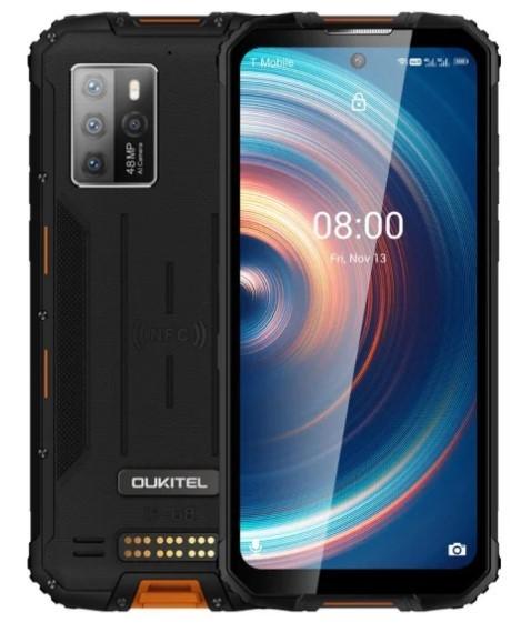 Oukitel WP10 5G 8/128 NFC Dual SIM 8000mAh pomarańczowy - zdjęcie główne