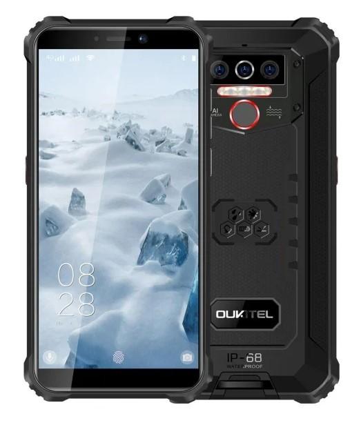 Oukitel WP5 4/32GB Dual SIM czarny - zdjęcie główne