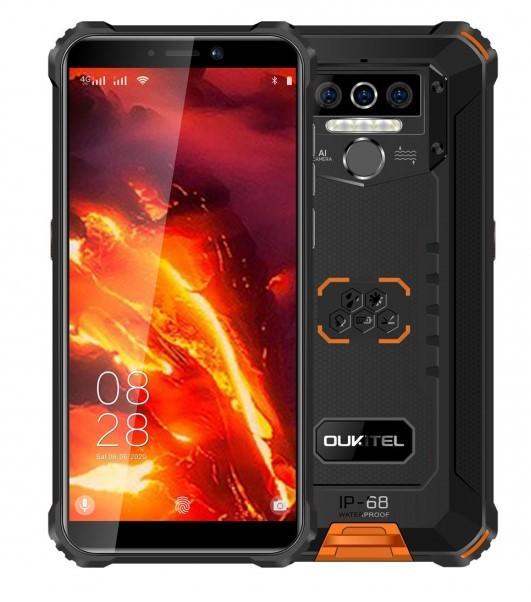 Oukitel WP5 Pro 4/64GB Dual SIM pomarańczowy - zdjęcie główne
