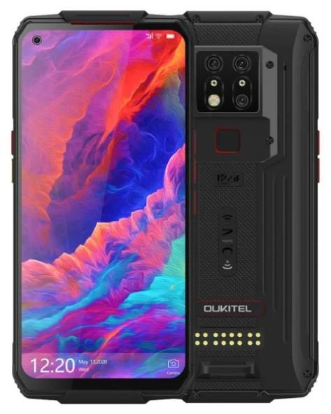 Oukitel WP7 lite 6/128GB Dual SIM czarny - zdjęcie główne