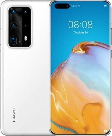 Huawei P40 Pro+ 5G 512GB Dual SIM ceramic biały - zdjęcie główne