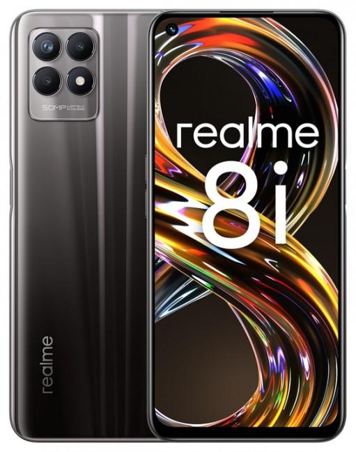 realme 8i 4/128GB Space Black - zdjęcie główne