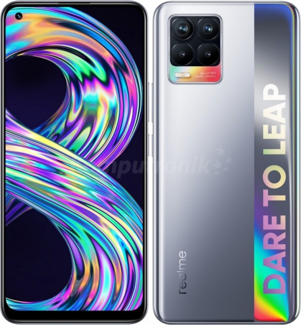 realme 8 4/64GB Silver - zdjęcie główne