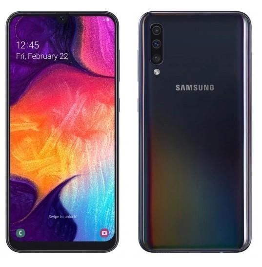 Samsung Galaxy A50 128GB Dual SIM czarny (A505) - zdjęcie główne