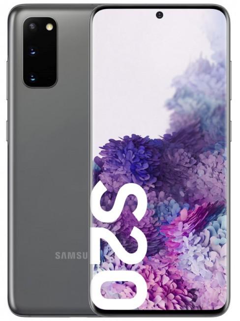 Samsung Galaxy S20 128GB Dual SIM szary (G980) - zdjęcie główne