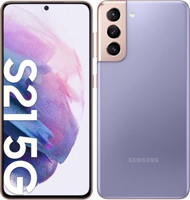 Samsung Galaxy S21 5G 128GB Dual SIM fioletowy (G991) - zdjęcie główne