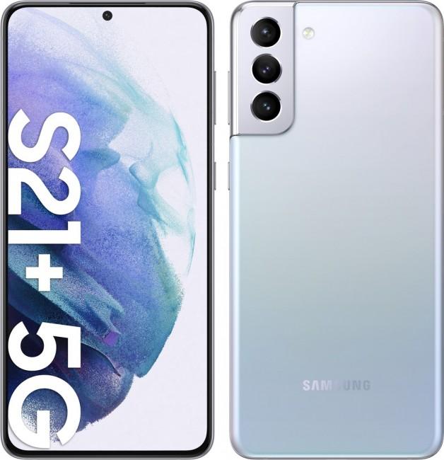 Samsung Galaxy S21+ 5G 128GB Dual SIM srebrny (G996) - zdjęcie główne