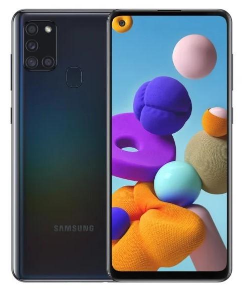Samsung Galaxy A21s 32GB Dual SIM czarny (A217) - zdjęcie główne