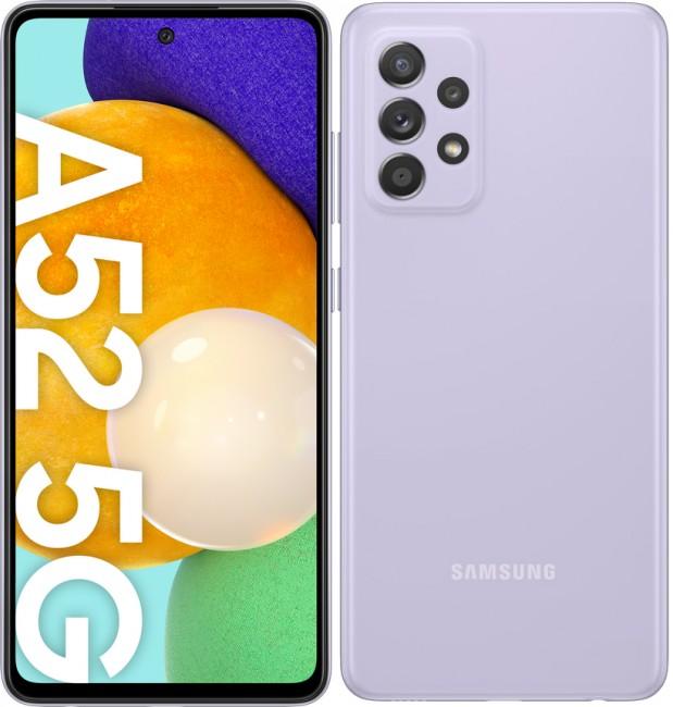 Samsung Galaxy A52 5G 256GB Dual SIM fioletowy (A526) - zdjęcie główne