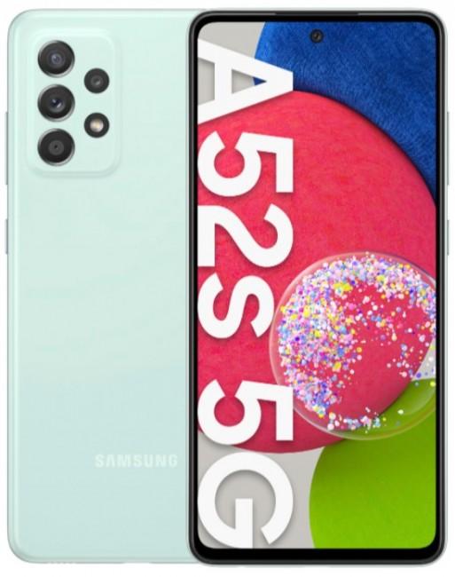 Samsung Galaxy A52s 5G 128GB Dual SIM zielony (A528) - zdjęcie główne