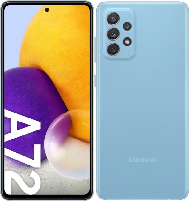 Samsung Galaxy A72 LTE 128GB Dual SIM niebieski (A725) - zdjęcie główne