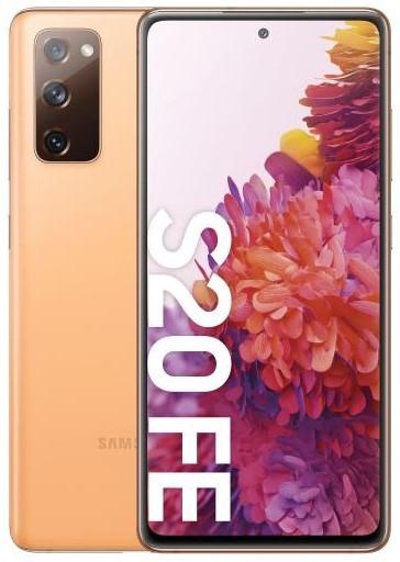 Samsung Galaxy S20 FE 256GB Dual SIM pomarańczowy (G780) - zdjęcie główne