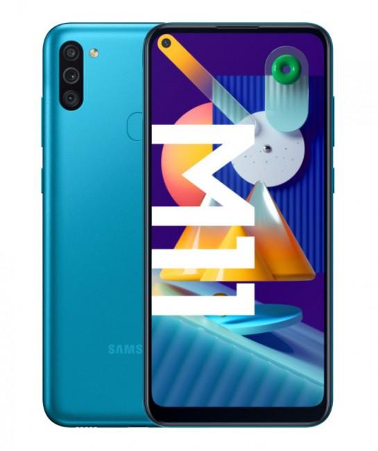 Samsung Galaxy M11 32GB Dual SIM niebieski (M115) - zdjęcie główne