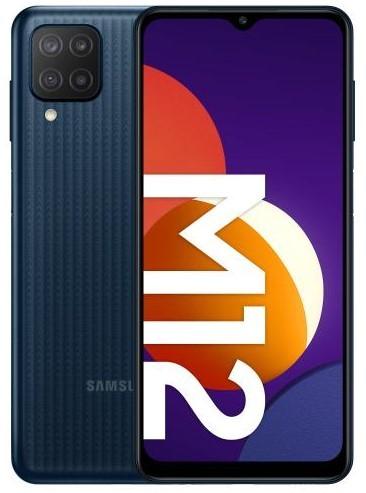 Samsung Galaxy M12 64GB Dual SIM czarny (M127) - zdjęcie główne
