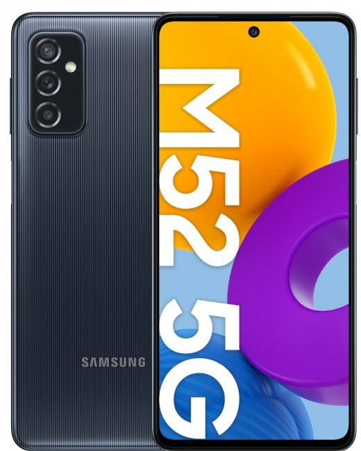 Samsung Galaxy M52 5G 128GB Dual SIM czarny (M526) - zdjęcie główne