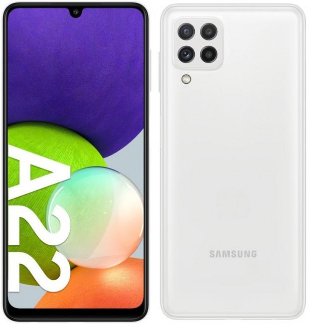 Samsung Galaxy A22 64GB Dual SIM biały (A225) - zdjęcie główne