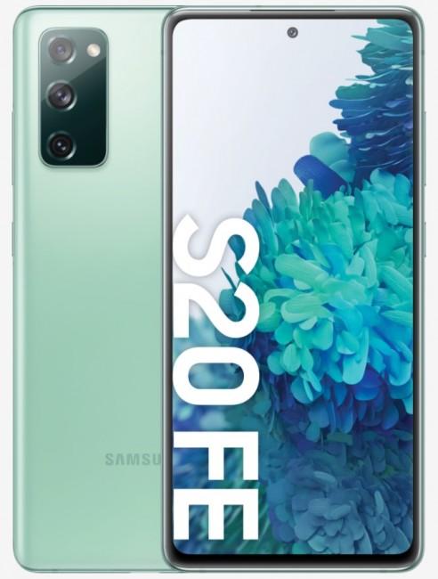 Samsung Galaxy S20 FE 256GB Dual SIM zielony (G780) - zdjęcie główne