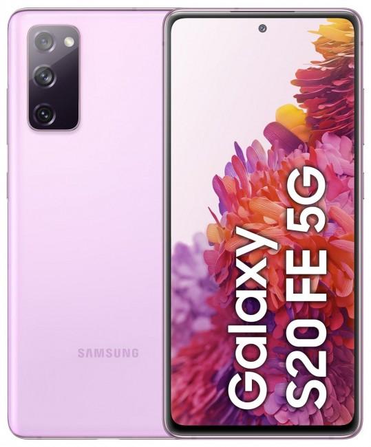 Samsung Galaxy S20 FE 5G 256GB Dual SIM lawendowy (G781) - zdjęcie główne