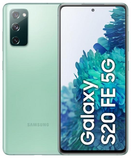 Samsung Galaxy S20 FE 5G 128GB Dual SIM zielony (G781) - zdjęcie główne