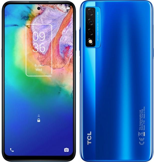 TCL 20 5G Dual SIM Niebieski - zdjęcie główne