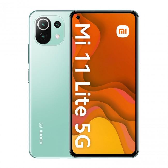 Xiaomi Mi 11 lite 5G 6/128GB zielony (Mint Green) - zdjęcie główne