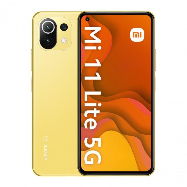 Xiaomi Mi 11 lite 5G 6/128GB żółty (Citrus Yellow) - zdjęcie główne