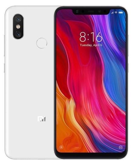 Xiaomi Mi 8 64GB Dual SIM biały - zdjęcie główne