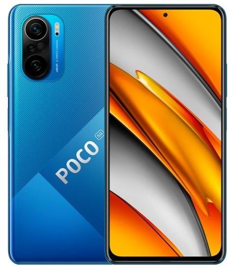 POCO F3 5G 6/128 niebieski (Deep Ocean Blue) - zdjęcie główne