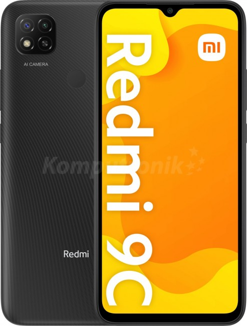 Xiaomi Redmi 9C 2/32GB szary - zdjęcie główne