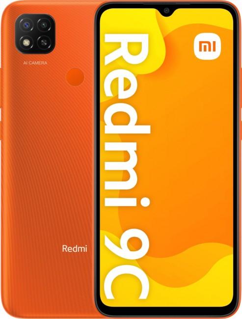 Xiaomi Redmi 9C 2/32GB pomarańczowy (Sunrise Orange) - zdjęcie główne