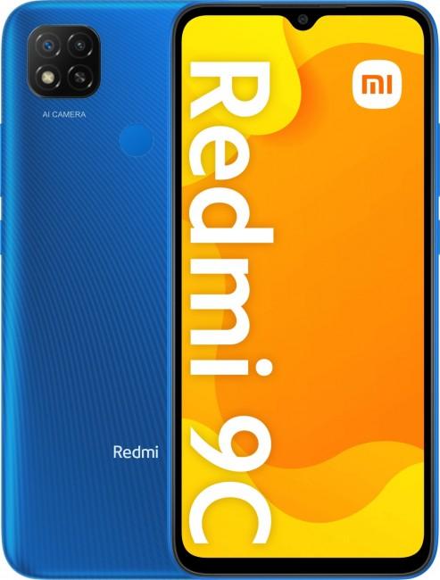 Xiaomi Redmi 9C 3/64GB niebieski (Twilight Blue) - zdjęcie główne