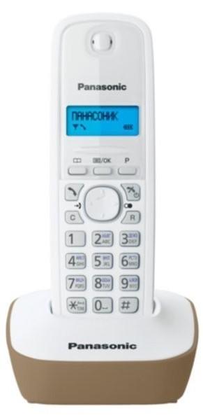 Panasonic KX-TG1611PDJ biały - zdjęcie główne