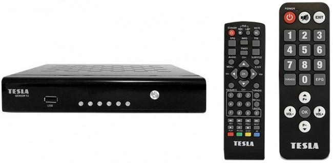 Tesla Senior T2 DVB-T2, H.265 (HEVC) - zdjęcie główne