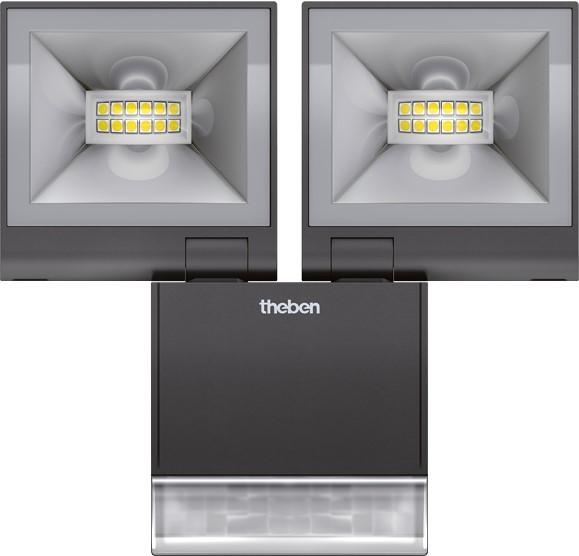 Theben naświetlacz S20 czarny 4000K - zdjęcie główne