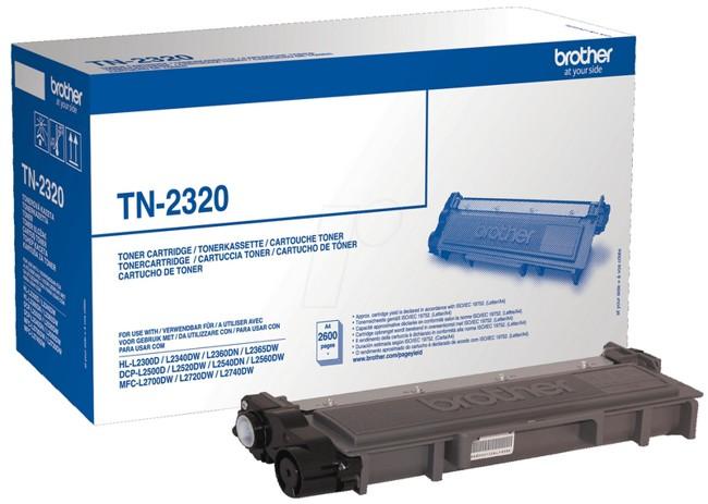 Toner Brother TN2320 czarny - zdjęcie główne