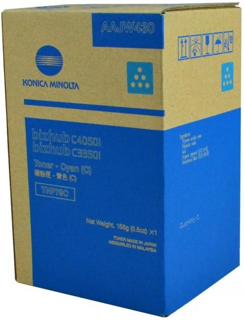 Konica Minolta TNP79C błękitny - zdjęcie główne