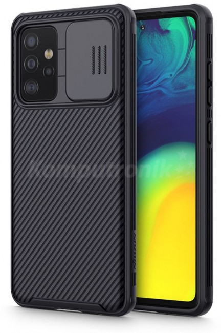 Nillkin Camshield Pro Galaxy A52/A52S LTE/5G black - zdjęcie główne