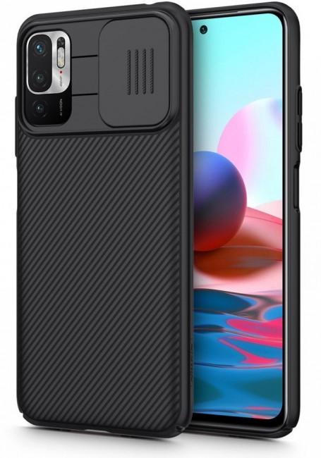 Nillkin Camshield Xiaomi Poco M3 Pro 5G / Redmi Note 10 5G black - zdjęcie główne