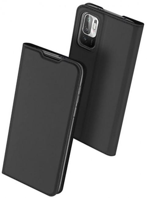 Duxducis Skinpro Xiaomi Poco M3 Pro 5G / Redmi Note 10 5G black - zdjęcie główne