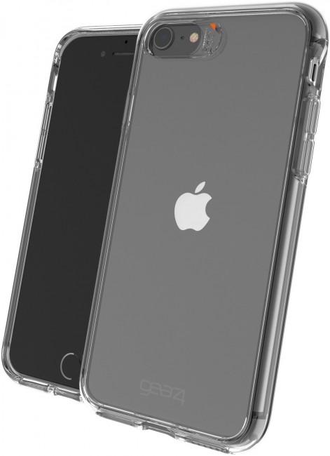 Gear4 Crystal Palace - obudowa ochronna z powłoką antybakteryjną do iPhone 7/8/SE przeźroczysty - zdjęcie główne