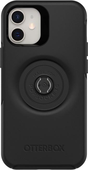 OtterBox Symmetry POP - obudowa ochronna z PopSockets do iPhone12 mini black - zdjęcie główne