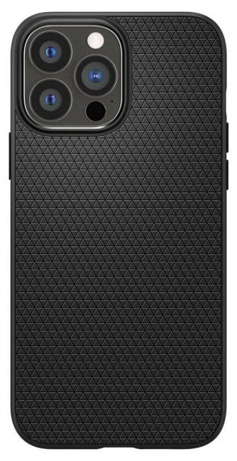 Spigen Liquid Air iPhone 13 Pro Max matte black - zdjęcie główne