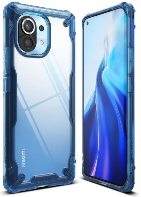 Ringke Fusion X Xiaomi Mi 11 space blue - zdjęcie główne