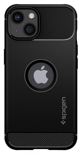 Spigen Rugged Armor iPhone 13 Mini matte black - zdjęcie główne