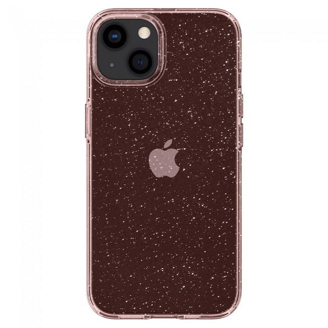 Spigen Liquid Crystal iPhone 13 glitter rose - zdjęcie główne