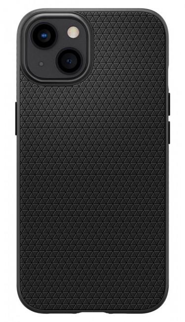 Spigen Liquid Air iPhone 13 matte black - zdjęcie główne