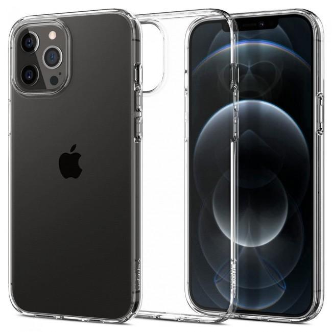 Spigen Liquid Crystal iPhone 12 Pro Max crystal clear - zdjęcie główne