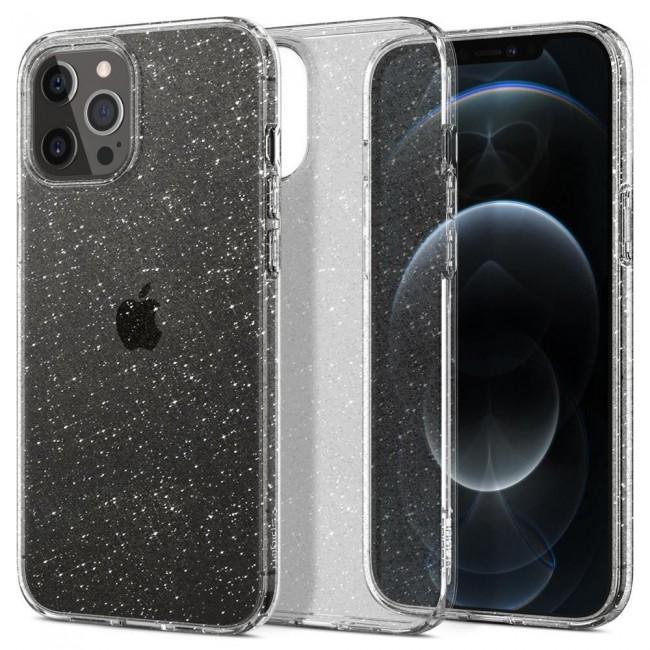 Spigen Liquid Crystal iPhone 12 Pro Max glitter crystal - zdjęcie główne