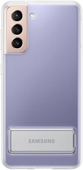 Samsung Clear Standing Cover do Galaxy S21 transparent - zdjęcie główne