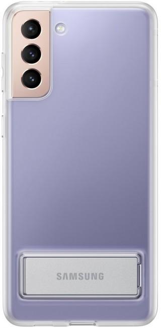 Samsung Clear Standing Cover do Galaxy S21+ transparent - zdjęcie główne